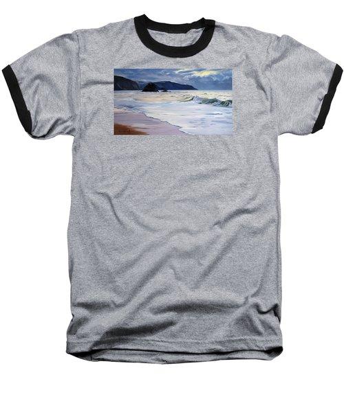 The Black Rock Widemouth Bay Baseball T-Shirt