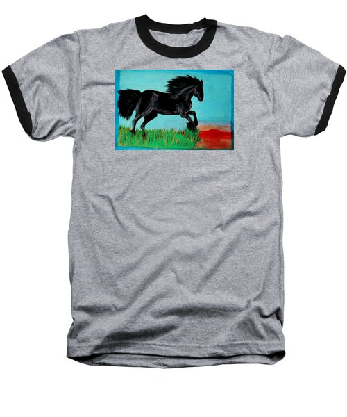 The Black Stallion Baseball T-Shirt