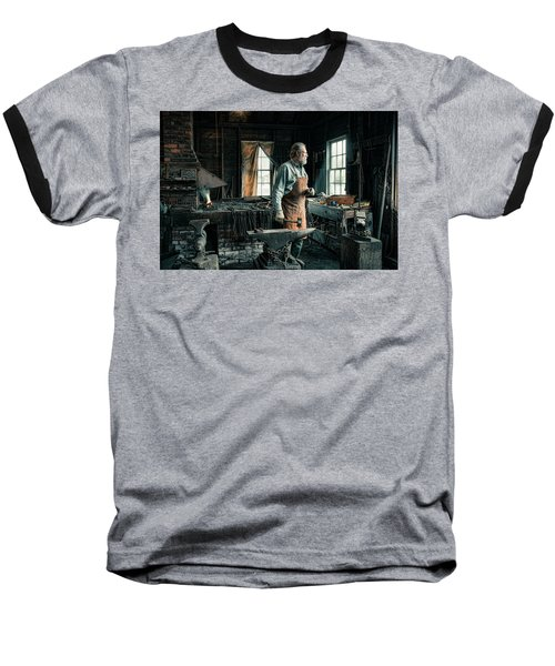 The Blacksmith - Smith Baseball T-Shirt