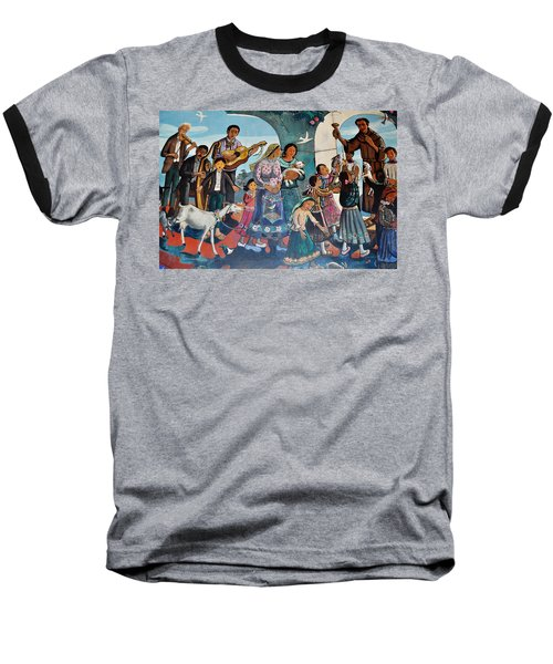 The Blessing Of Animals Olvera Street Baseball T-Shirt