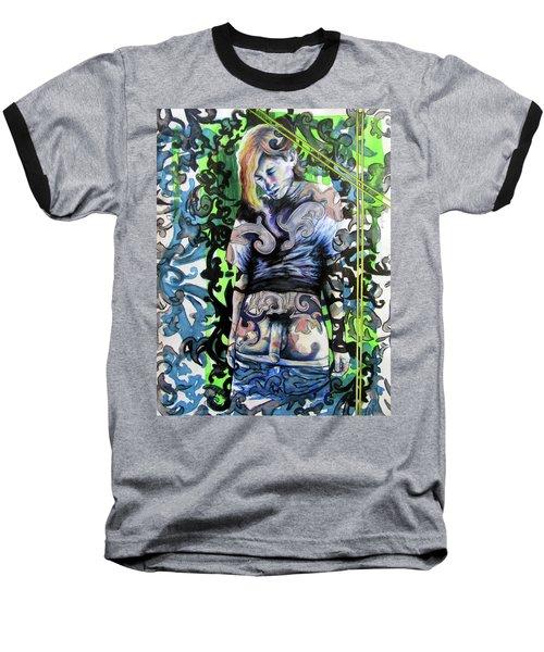 The Blond Bomber  Baseball T-Shirt