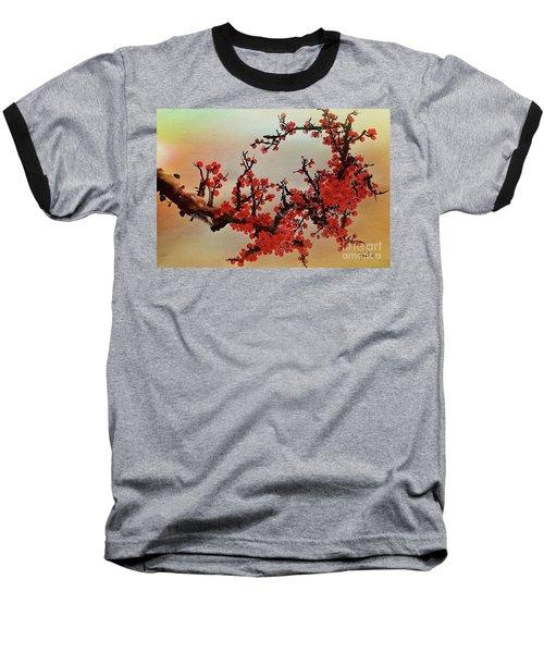 The Bloom Of Cherry Blossom Baseball T-Shirt