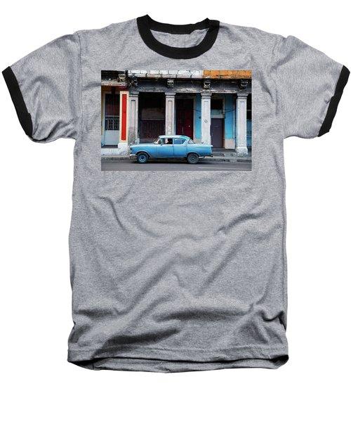 The Blue Car Baseball T-Shirt