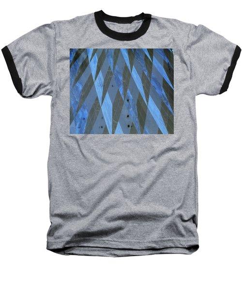 The Blue Dimension Baseball T-Shirt