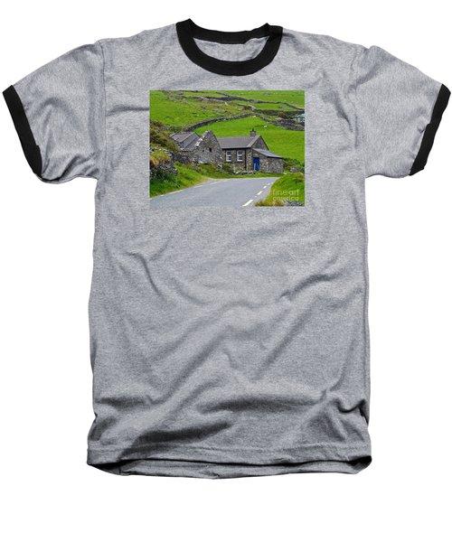 The Blue Door Baseball T-Shirt by Patricia Griffin Brett