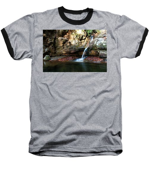 The Blue Hole In November #2 Baseball T-Shirt by Jeff Severson