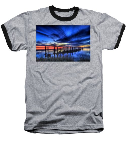 The Blue Hour Comes To St. Marks #1 Baseball T-Shirt