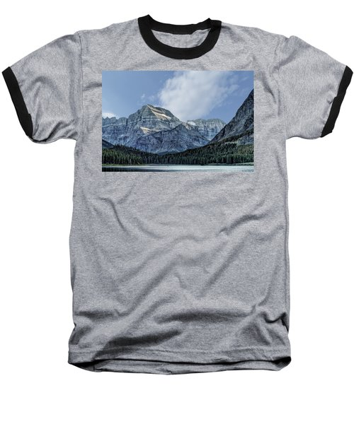 The Blue Mountains Of Glacier National Park Baseball T-Shirt