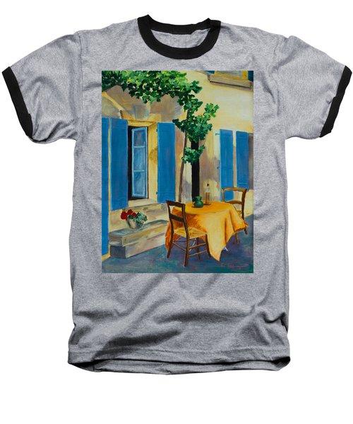 The Blue Shutters Baseball T-Shirt