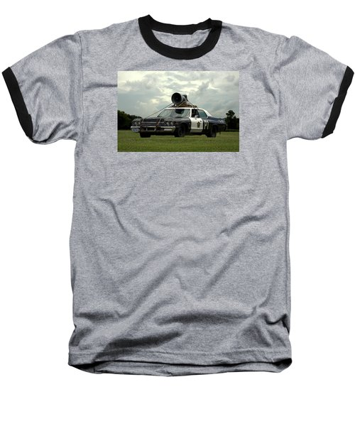 The Bluesmobile Baseball T-Shirt by Tim McCullough