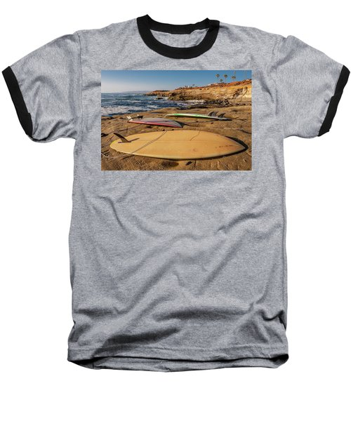 The Boards Baseball T-Shirt by Peter Tellone