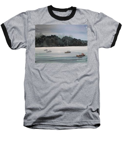 The Boat Ride Baseball T-Shirt