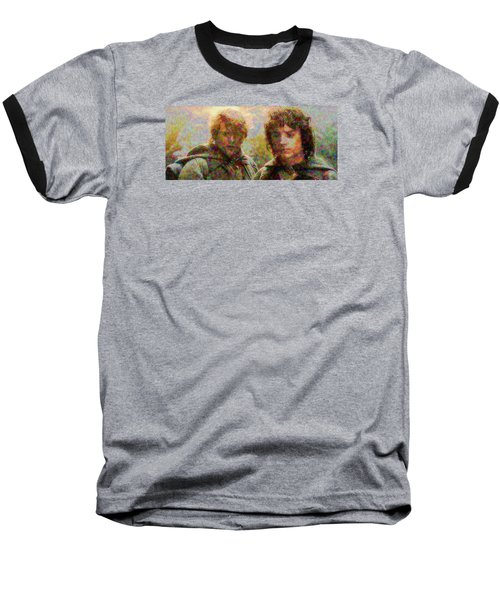 Baseball T-Shirt featuring the photograph The Bonds Of Friendship by Mario Carini
