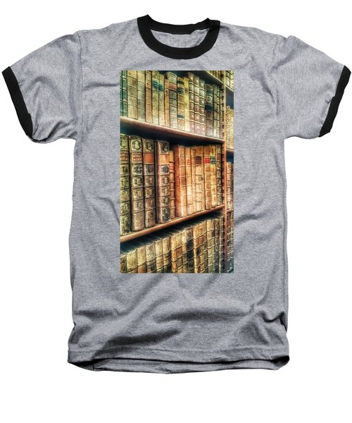 The Bookcase Baseball T-Shirt by Isabella F Abbie Shores FRSA