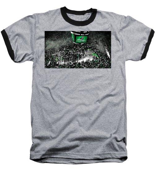 The Boston Celtics 2008 Nba Finals Baseball T-Shirt by Brian Reaves