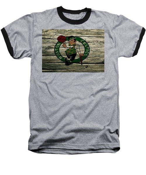 The Boston Celtics 2w Baseball T-Shirt by Brian Reaves