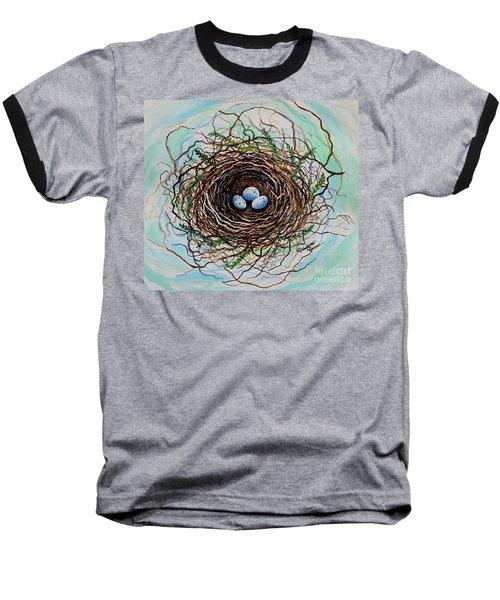 The Botanical Bird Nest Baseball T-Shirt