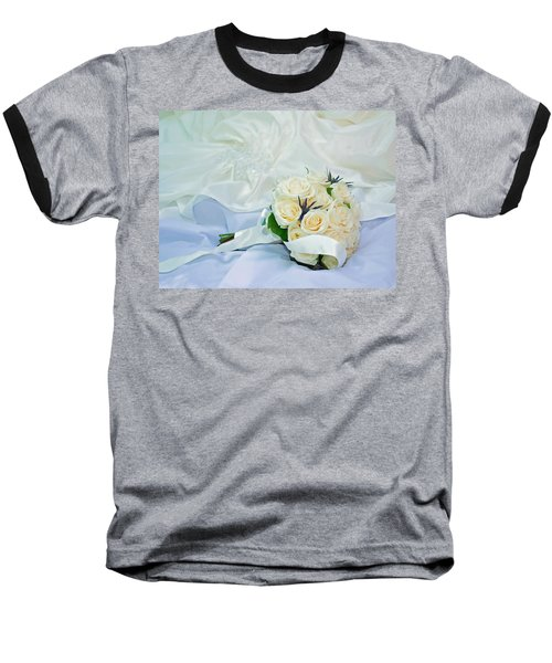 The Bouquet Baseball T-Shirt by Keith Armstrong