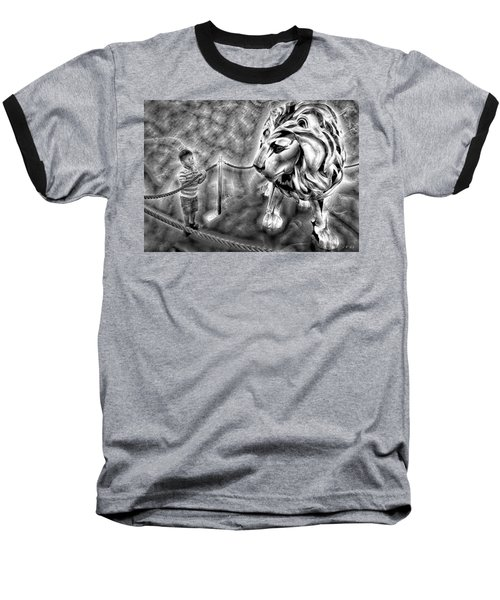 The Boy And The Lion 18 Baseball T-Shirt