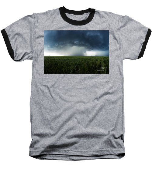 The Breath Before The Plunge Baseball T-Shirt