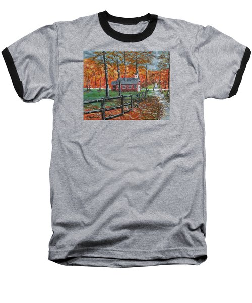 The Brick Country Schoolhouse Baseball T-Shirt