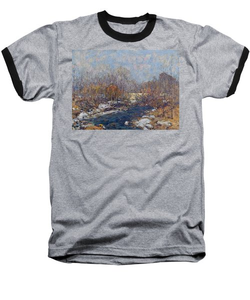 The Bridge  Garfield Park  By William J  Forsyth Baseball T-Shirt