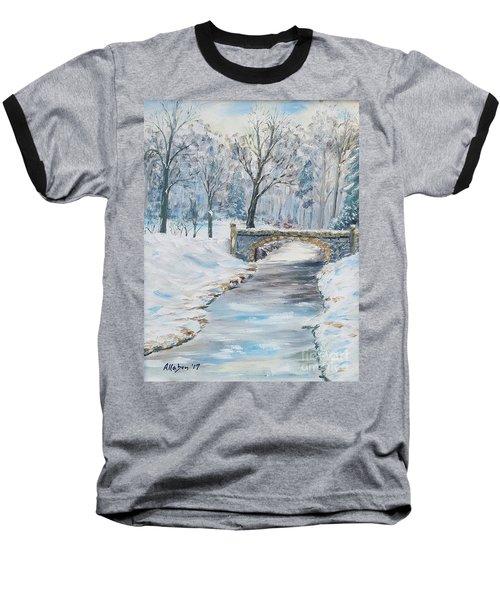 The Bridge Baseball T-Shirt by Stanton Allaben