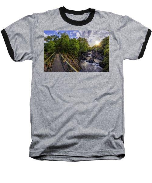 The Bridge To Summer Baseball T-Shirt by Ian Mitchell
