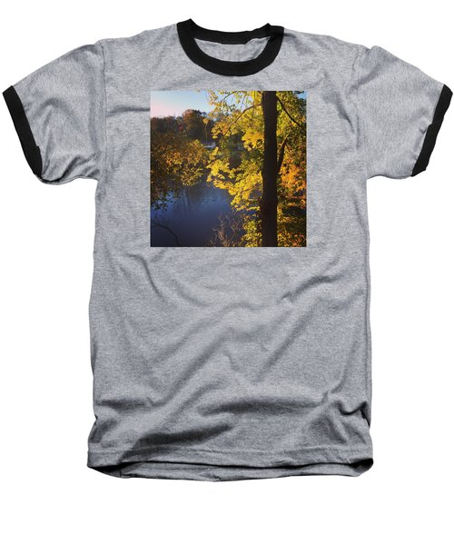 The Brilliance Of Nature Leaves Me Speechless Baseball T-Shirt by Jason Nicholas