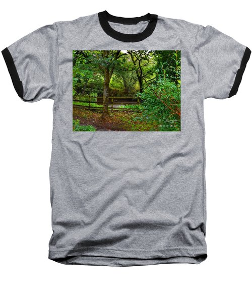 The Brook At Gibbon's Bridge Baseball T-Shirt
