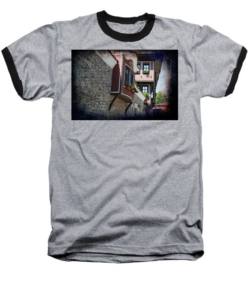 Baseball T-Shirt featuring the photograph The Brown House by Milena Ilieva