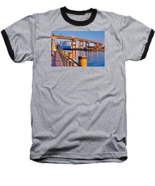 The Buffalo Skyway Baseball T-Shirt by Don Nieman