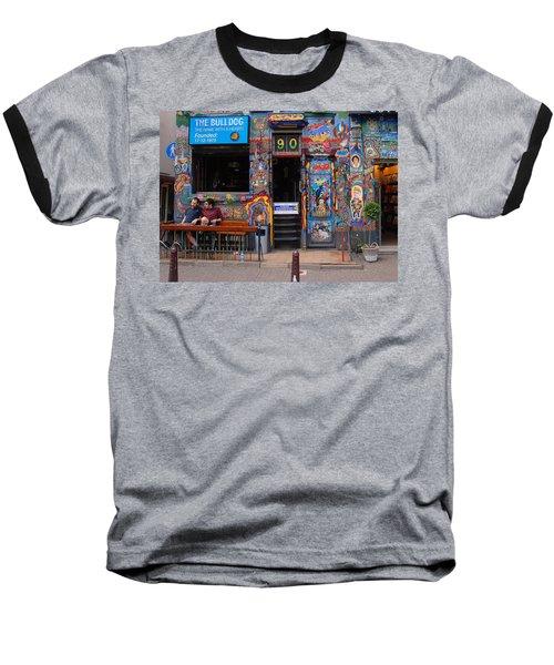 The Bulldog Of Amsterdam Baseball T-Shirt