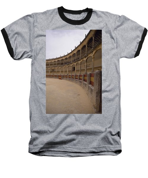 The Bullring Baseball T-Shirt by Shaun Higson