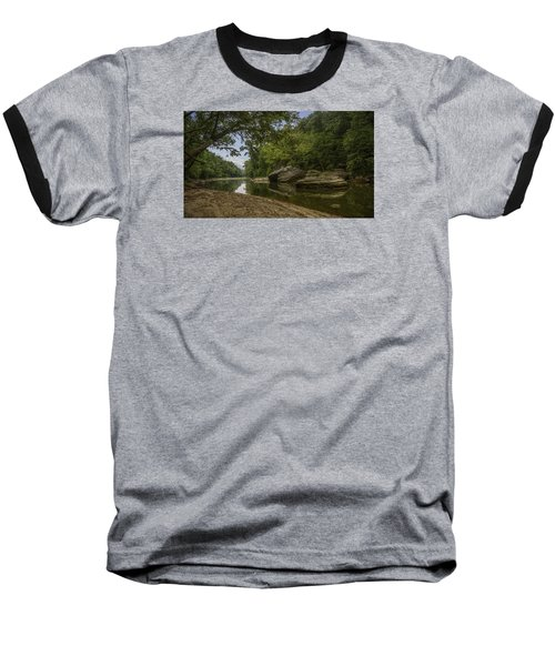 The Burbuese River Baseball T-Shirt