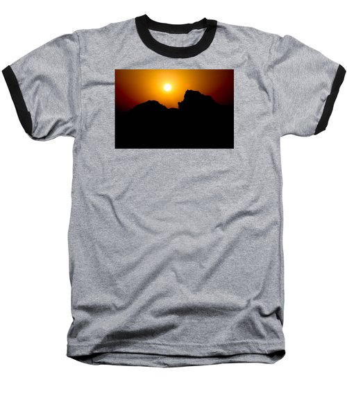 Baseball T-Shirt featuring the photograph The Burn by Jez C Self