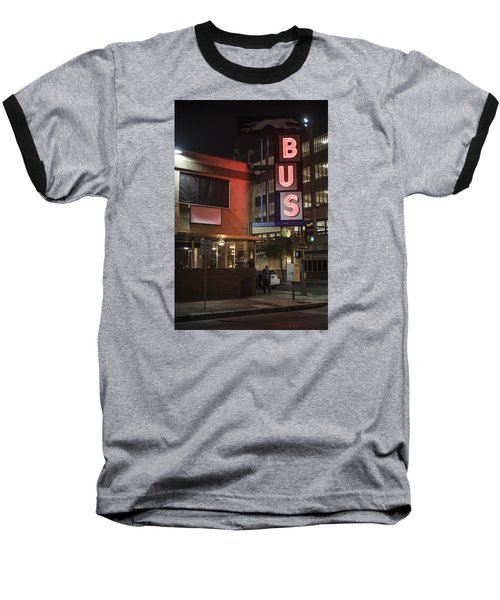 The Bus Stop Baseball T-Shirt