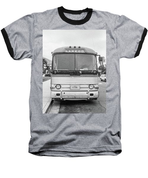 Baseball T-Shirt featuring the photograph The Bus To Laredo by Frank DiMarco