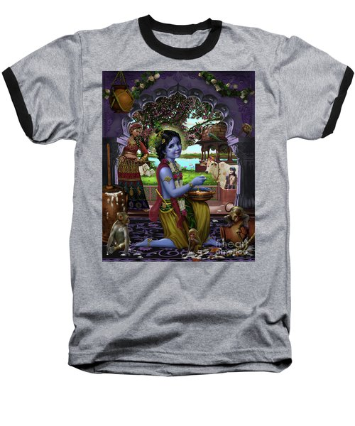 The Butter Thief Baseball T-Shirt