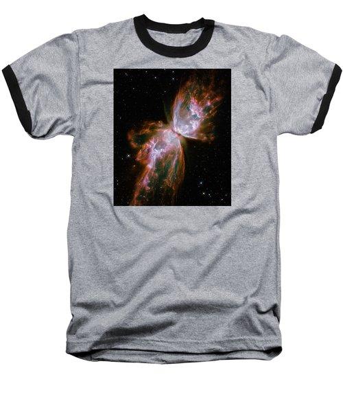 The Butterfly Nebula  Baseball T-Shirt