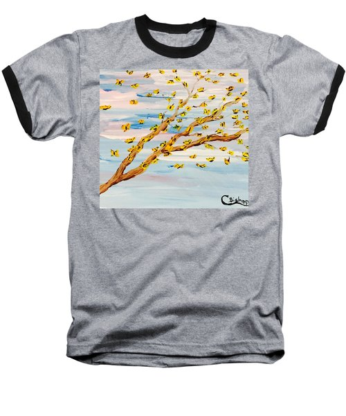 The Butterfly Tree Baseball T-Shirt