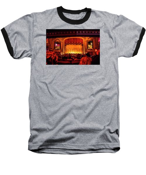 Baseball T-Shirt featuring the photograph The Byrd Theatre by Jean Haynes