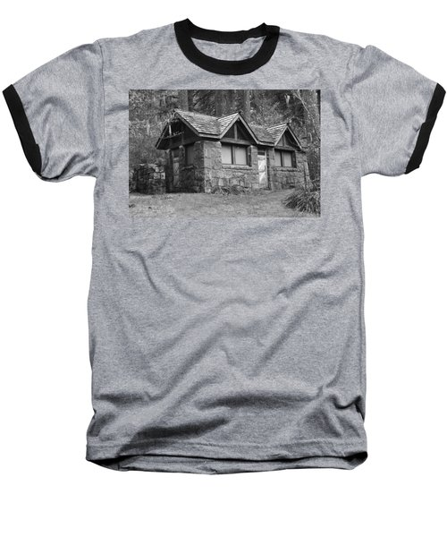 Baseball T-Shirt featuring the photograph The Cabin by Angi Parks
