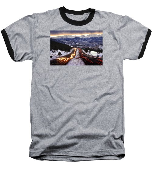 The Call Of The Mountains Baseball T-Shirt