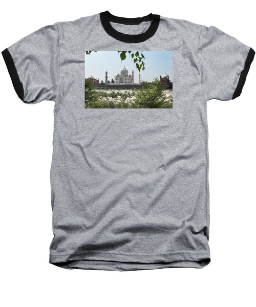 The Calm Behind The Taj Mahal Baseball T-Shirt