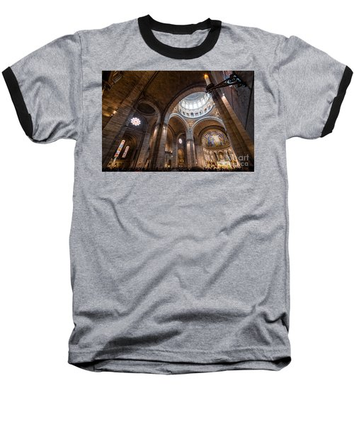 The Candle Baseball T-Shirt by Giuseppe Torre