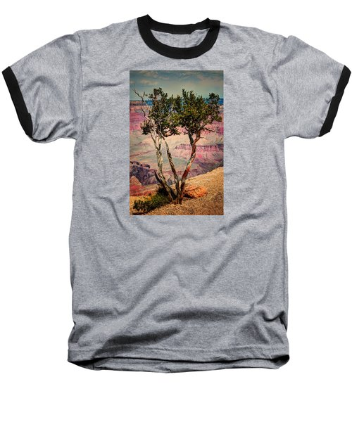 Baseball T-Shirt featuring the photograph The Canyon Tree by Tom Prendergast