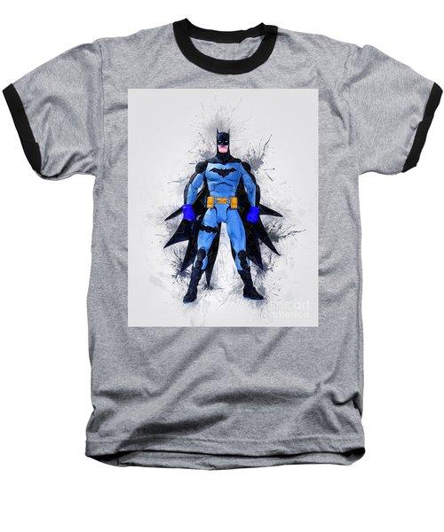The Caped Crusader Baseball T-Shirt