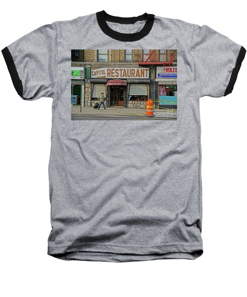 Baseball T-Shirt featuring the photograph The Capitol by Cole Thompson