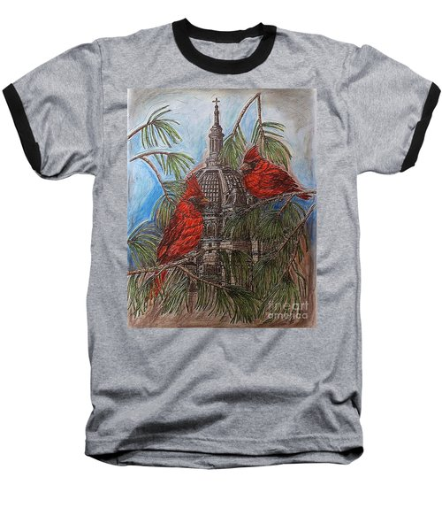 The Cardinals Visit St.pauls Cathedral Baseball T-Shirt